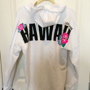VS Pink Hawaii Hoodie Limited Edition
